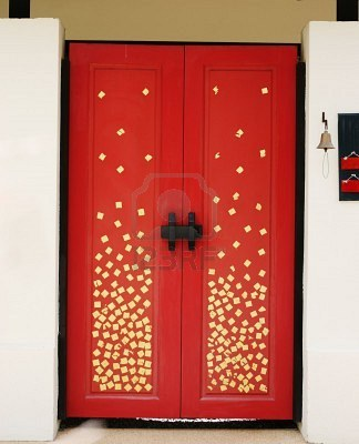 Trucs astuces et id es d co portes originales for Decoration originales porte