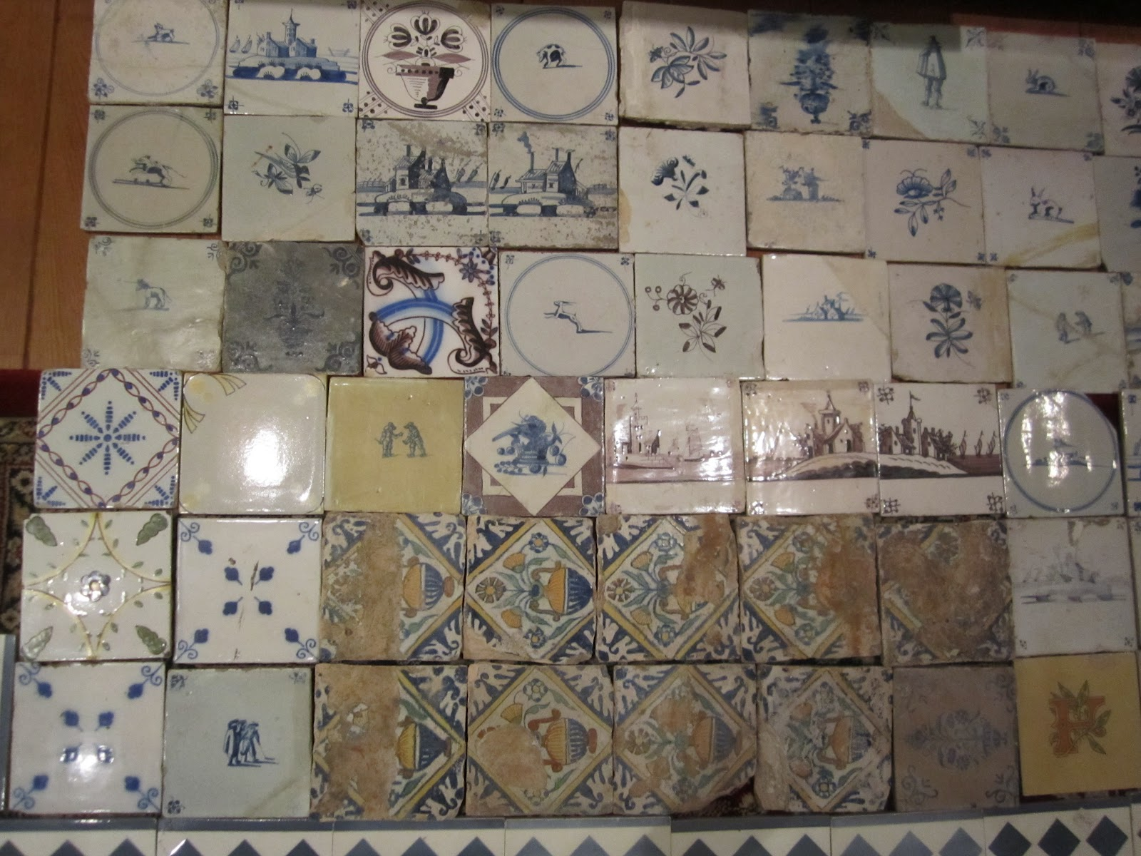 Oud Hollandse Tegeltjes : Josephines lappies en larie: wolletjes en tegels