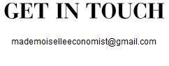 Mademoiselle Economist