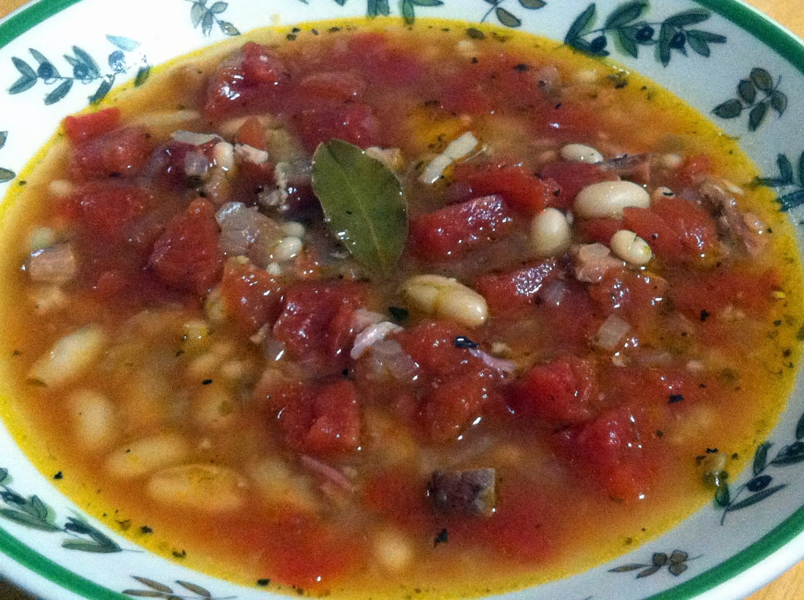 Couple in the Kitchen: Slightly Smoky Ham and Bean Soup