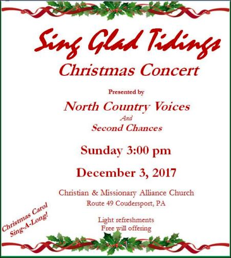 12-3 Sing Glad Tidings Alliance Church