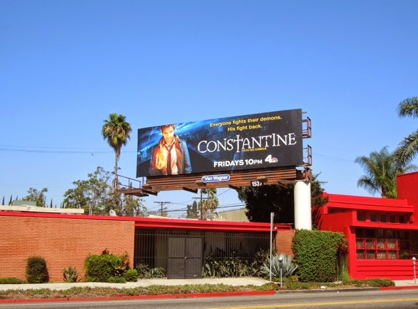 Constantine series launch billboard