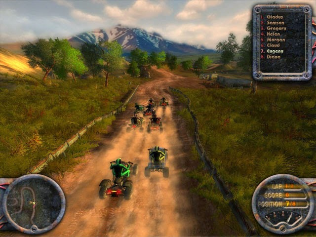 Download Permainan gametop ATV Quadro Racing