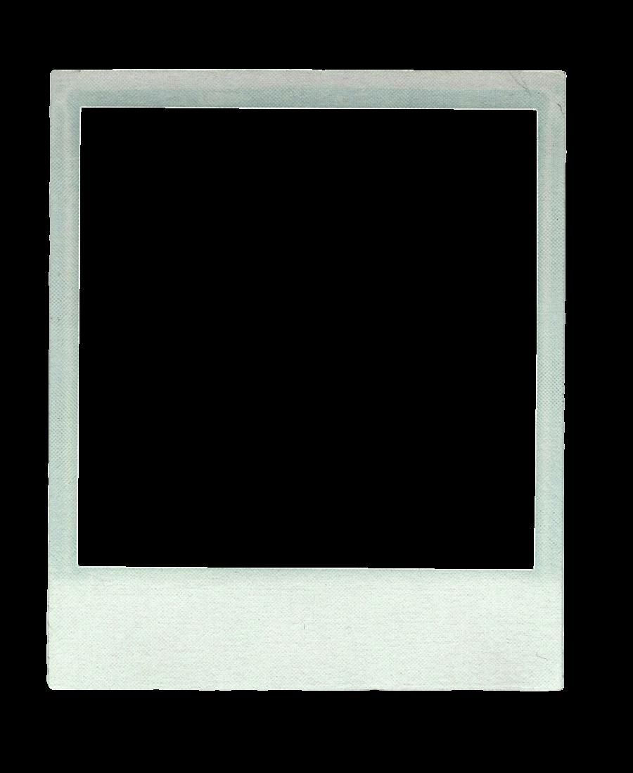 blank polaroid template