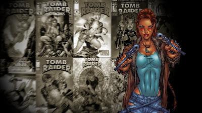 Tomb Raider Comic Wallpaper