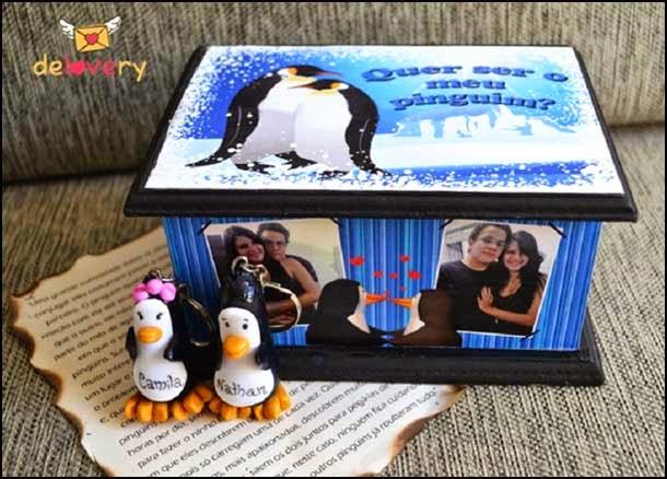 pinguins para namorados