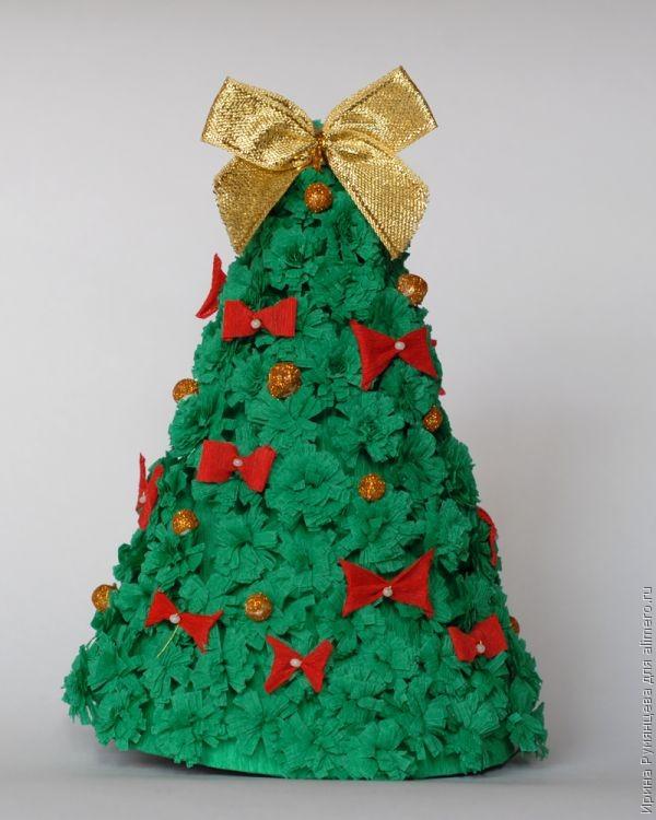 Сделать своими руками елку новогоднюю