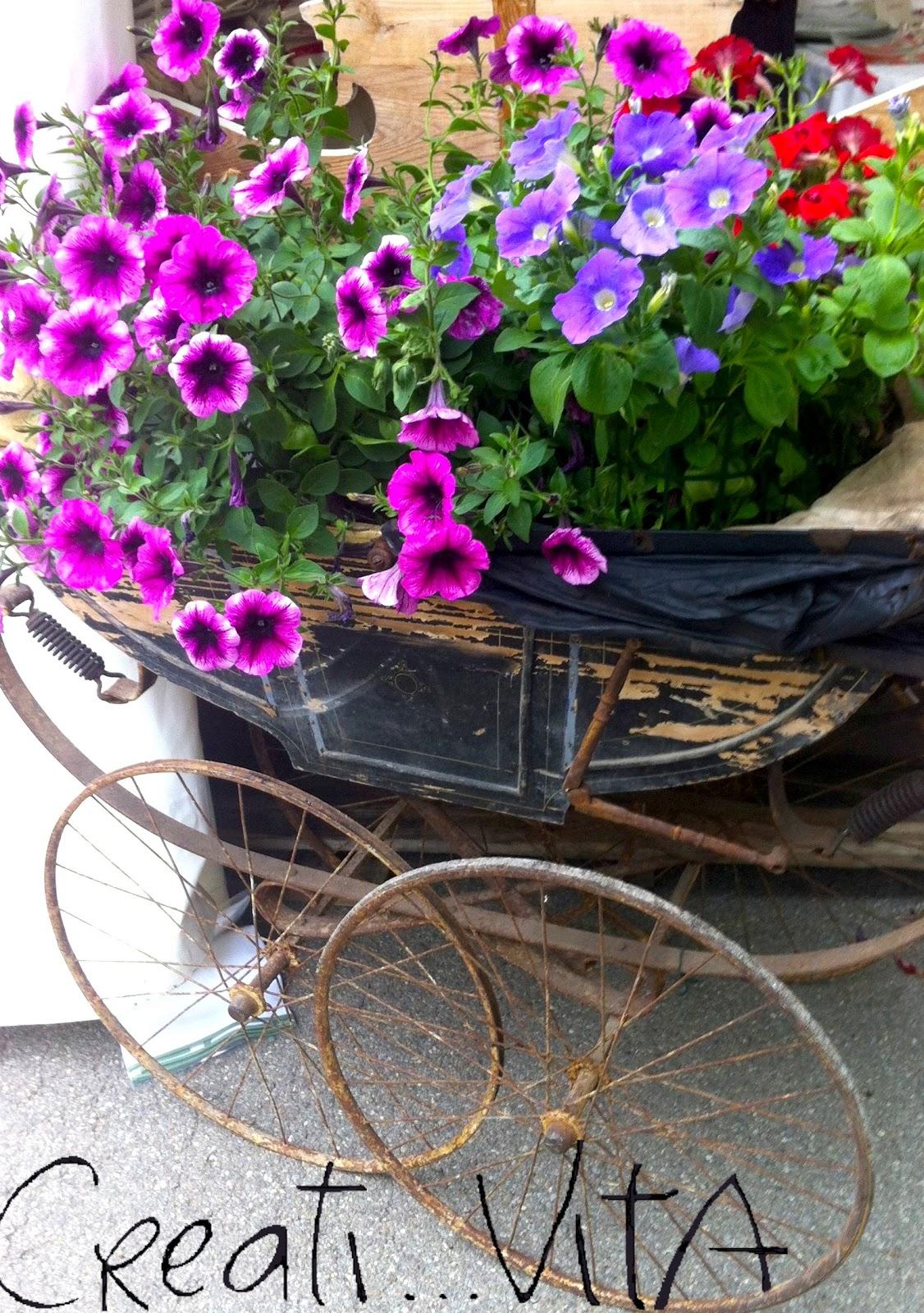Creativita vita creativa life giardini terrazzi for Oggetti da giardino