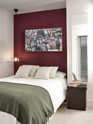 dormitorio pequeño apartamento hombre