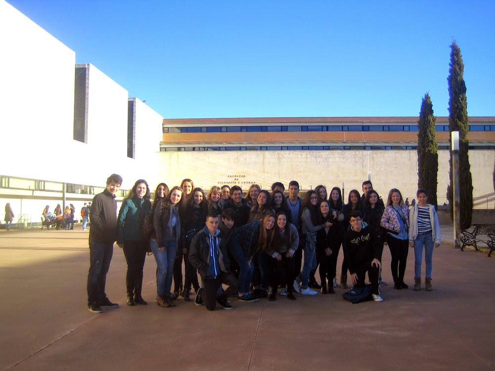 Grupo de alumnos participantes