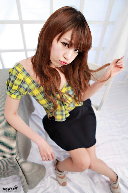 KoreanModel-Lee Eun Hye - Cute fashion shots