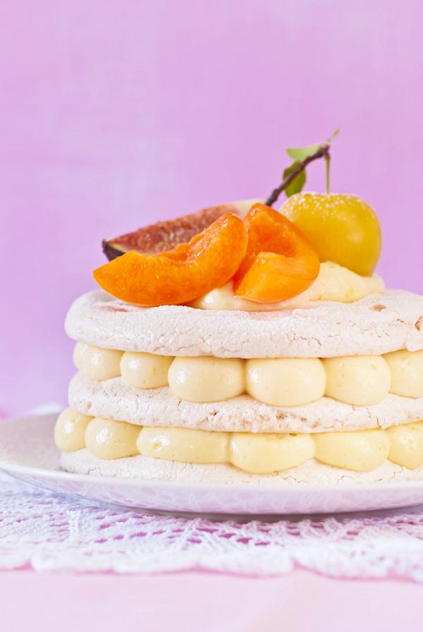 Lemon Curd Mousse Cake Recipe — Dishmaps