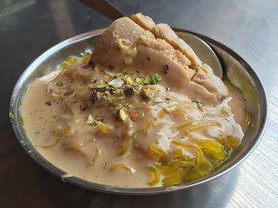 Kulfi Falooda at Shiv Kailash Pune
