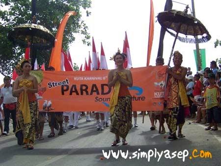 Parade Kuta Bali 2007