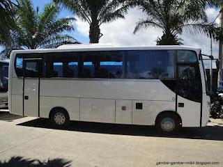 gambar mobil bis
