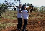 Plantio de árvores em Campinas/SP/BR