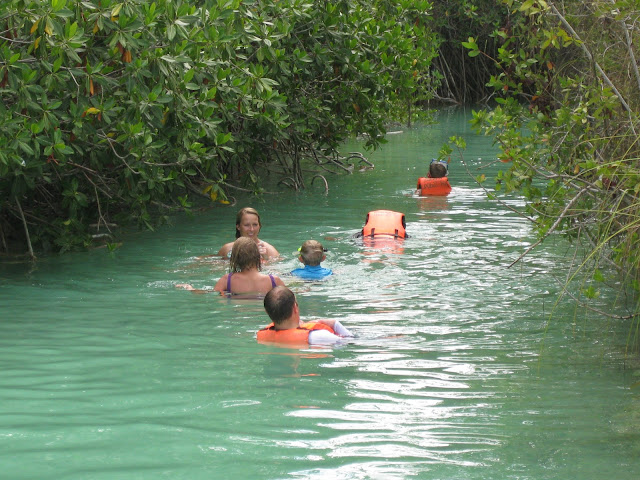 Floating the Mayan Highway Natural Canal System in Sian Ka'an Biosphere in Tulum, Mexico