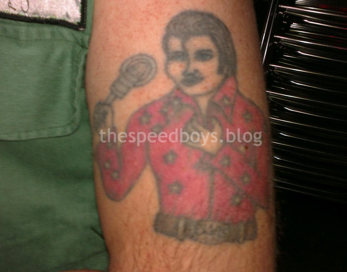 Speedboys elvis presley tattoo fredy for Elvis presley tattoos