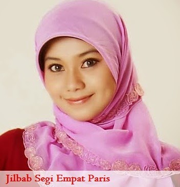 Jilbab Segi Empat Paris