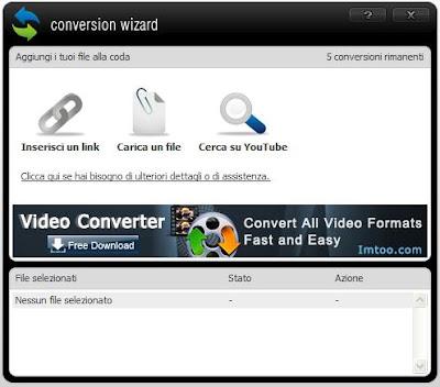 PROGRAMMA GRATIS PER CONVERTIRE DA MP3 A WAV ONLINE