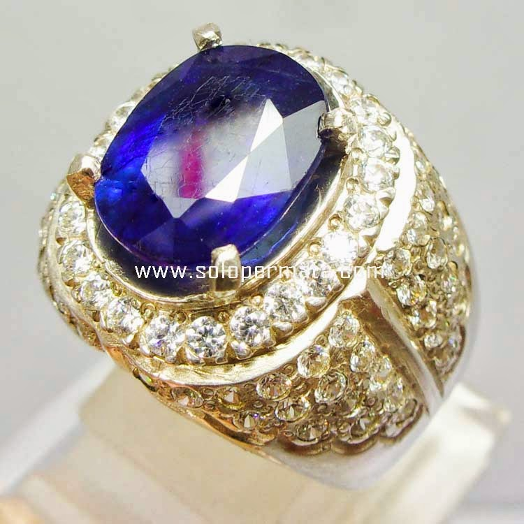 Batu Permata Royal Blue Sapphire - SP 003