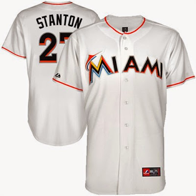 Miami Marlins Giancarlo Stanton Jersey, Miami Marlins big and tall jersey, Giancarlo Stanton jersey