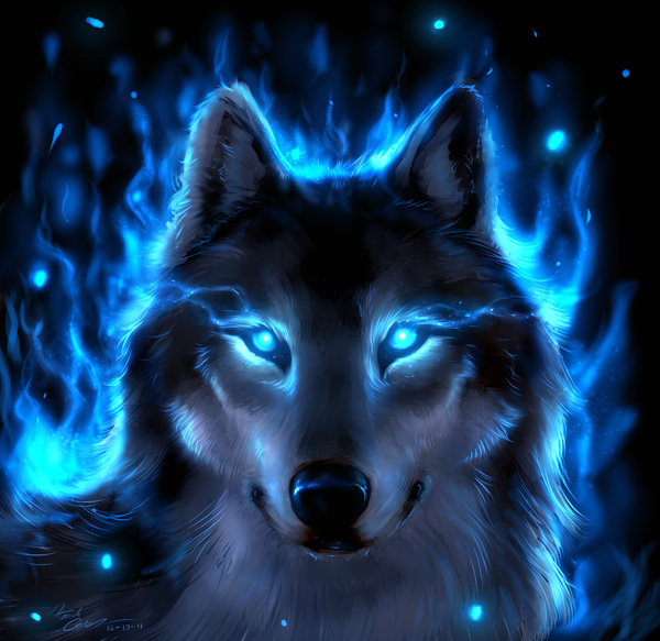 nordic wiccan wolf