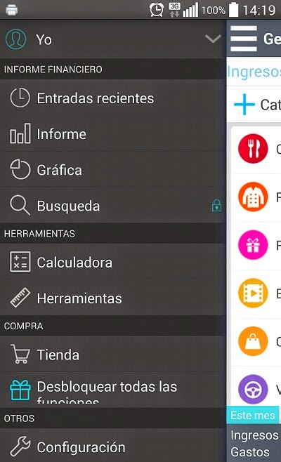 YoAndroideo.com: Controla tu dinero fácilmente con tu Android