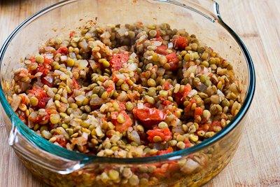 Kalyn's Kitchen®: Vegetarian Greek Lentil Casserole Recipe ...