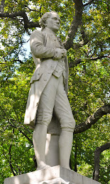 Alexander Hamilton in Central Park