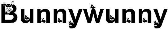 Bunnywunny font fuente para pascua