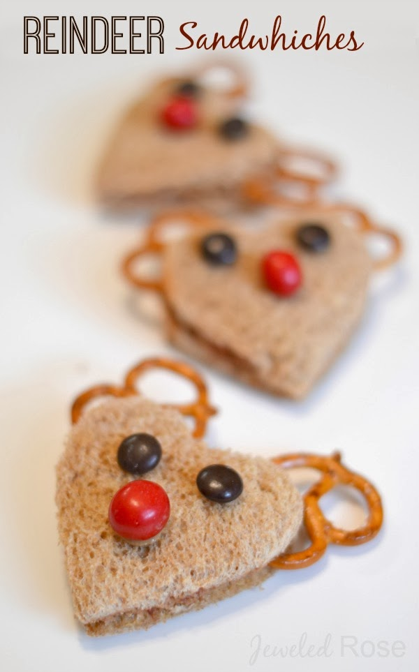 What Could Be Cuter Than Reindeer Sandwiches For Lunch During The Holidays My Kids Love