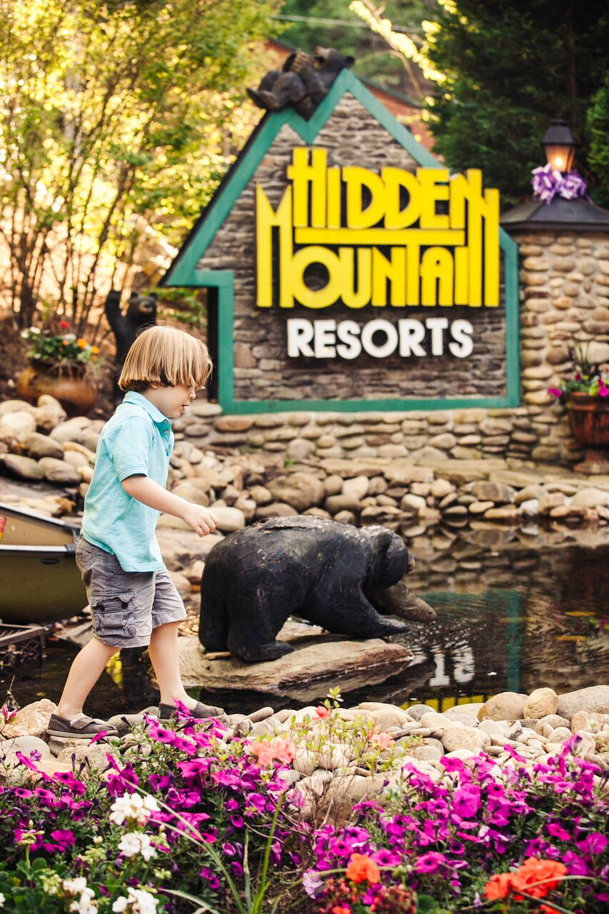hidden mountain resort: cabins in sevierville, tn