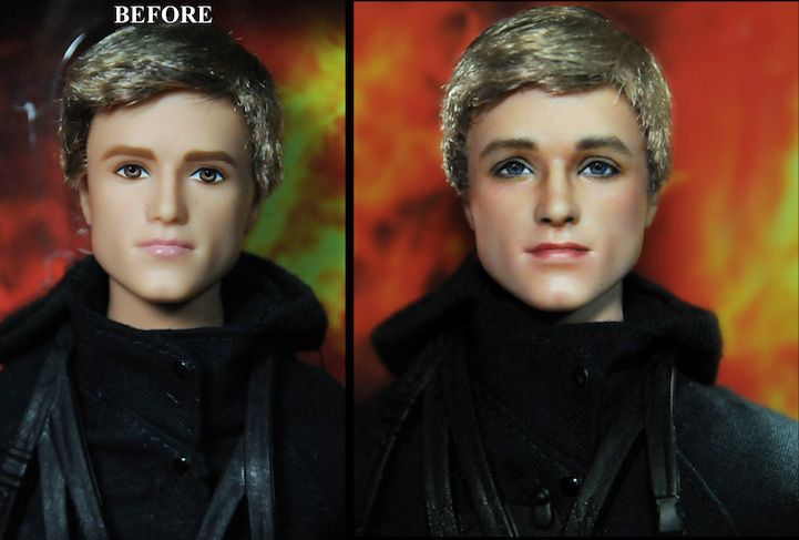 03-Hunger-Games-Josh-Hutcherson-Noel-Cruz-Hyper-Realistic-Make-up-on-small-Dolls-www-designstack-co