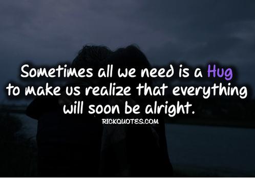 i love hugs quotes quotesgram