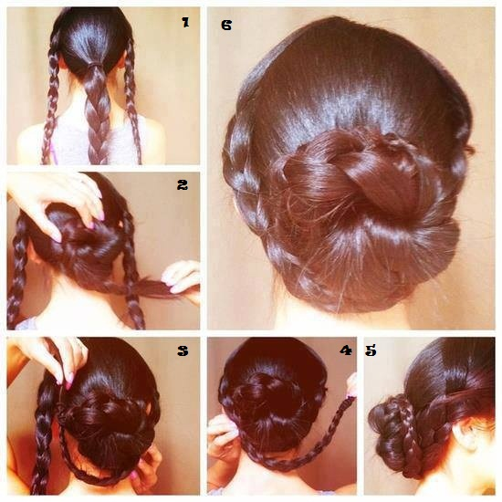 Latest Hair Do : Best Quick and Simple Hairstyle Pics Tutorial ~ Pak Fashion