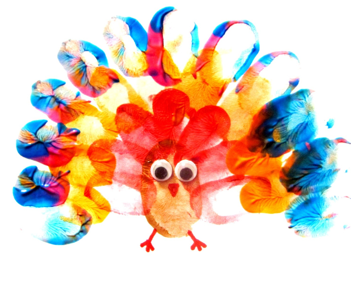 Colormehappy Colormehappy Turkey Fun Thanks Giving Art Project Using Finger