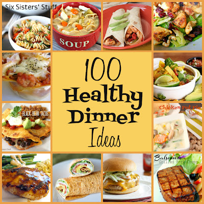 easy healthy dinner recipes 100 healthy dinner recipes