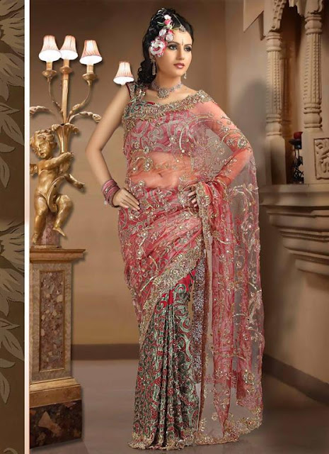 Bridal Saree Blouse Designs 2012