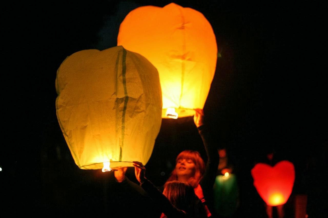 Китайские фонарики: делаем своими руками. Видео мастер 66