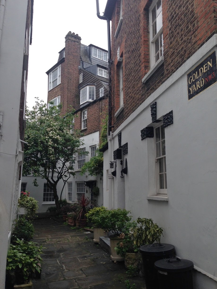 Golden Yard, Hampstead, London NW3
