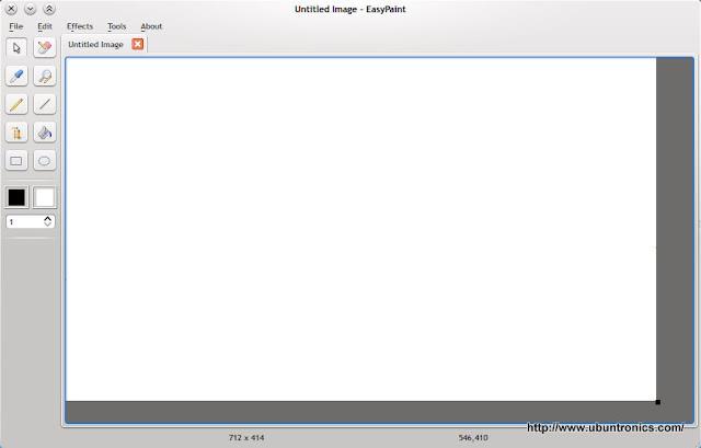 EasyPaint | Programa de dibujo gráfico para GNU/Linux