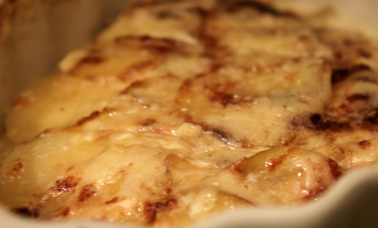 Feast for the Eyes: Yukon Gold Potatoes Au Gratin