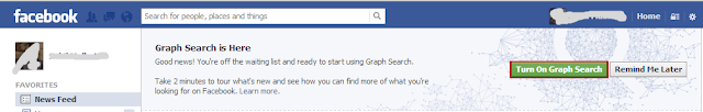 How To Activate Graph Search On FaceBook