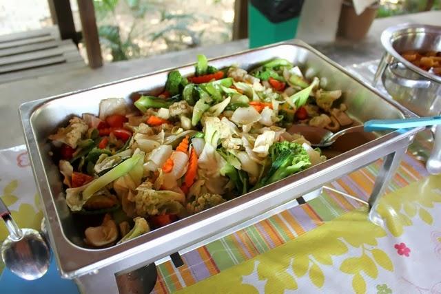 Vegetarian buffet Chiang Mai
