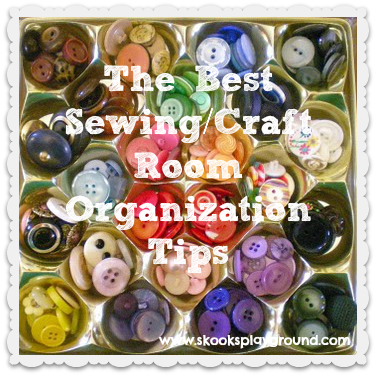 The Best Sewing Craft Room Organizing Tips