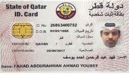 ID Card Qatar tidak ada kolom agama