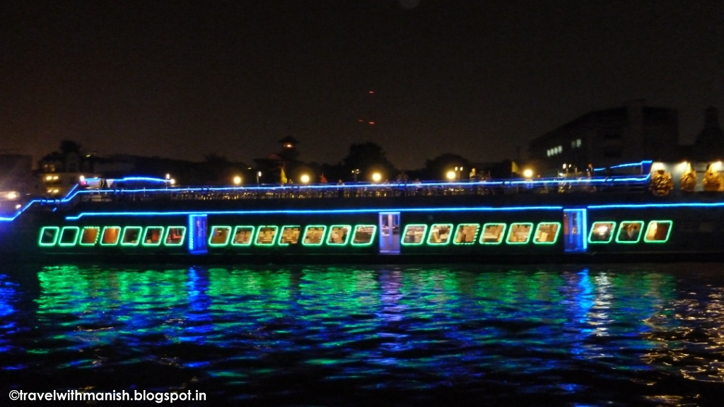 Night Cruise Chao Phraya River Bangkok