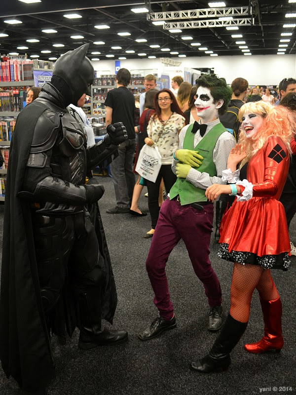 oz comic-con adelaide - just kidding around bats