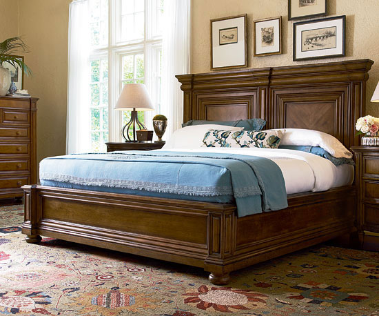 Modern furniture 2013 bedroom furniture collection bhg for Classic house day bed